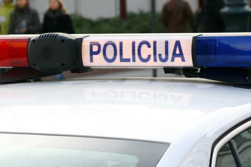 Girta vairuotoja Vilniaus senamiestyje paralyžiavo eismą
