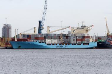 Klaipėdos uoste vėluoja infrastruktūros darbai