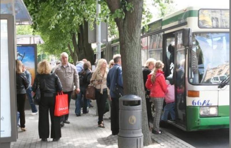 Rugsėjį autobusų keleivių skaičius Klaipėdoje kone padvigubėjo