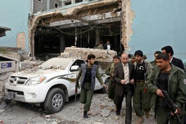 Afganistane atakuotas Jungtinių Tautų biuras