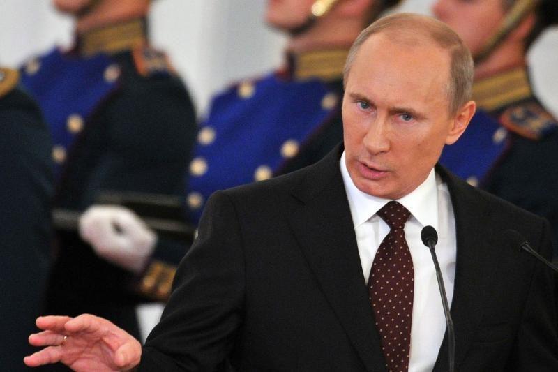 """V. Putinas ragina Vakarus """"pasimokyti iš klaidų"""" ir nesikišti"""