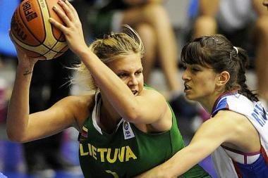 Merginų krepšinio rinktinė – šešta