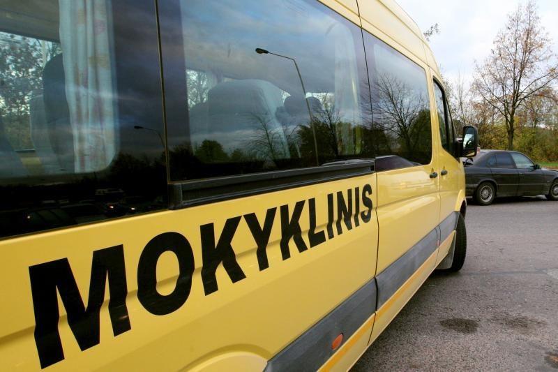 Ukmergės rajone mokyklinį autobusą vairavo apgirtęs vyras