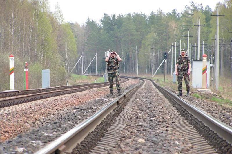 Baltarusijos pasienyje pareigūnai vos spėja gaudyti pažeidėjus