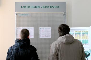 Lietuvoje - mažiausias nedarbas iš trijų Baltijos šalių