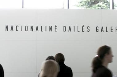 Nacionalinėje dailės galerijoje - filmas apie garsų kompozitorių