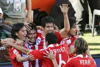 Rezultatu 2:0 slovakus į nokdauną pasiuntė paragvajiečiai