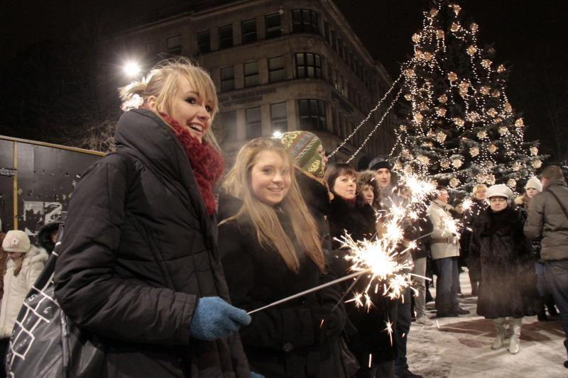 Kaune bus įžiebta ekologiška Kalėdų eglė