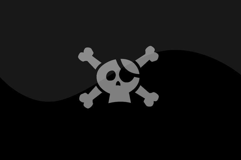 Keli piratai, kino teatruose įrašinėję filmus, pasodinti į kalėjimą