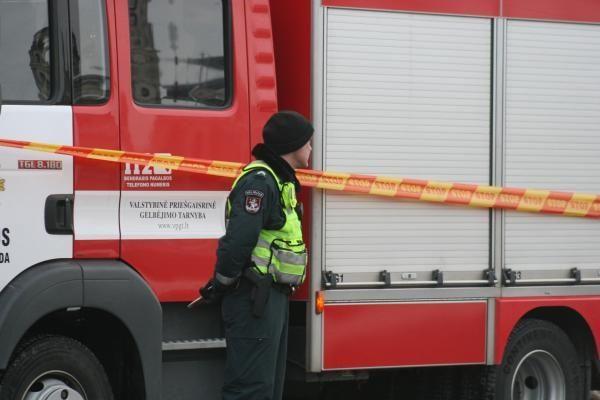 Vilniaus centro poliklinikoje užsidegė kondicionierius