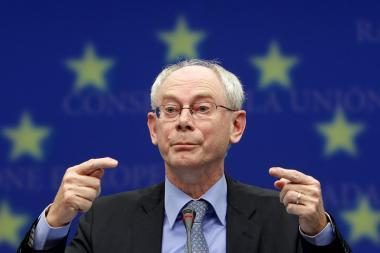 ES prezidentas išvadintas šlapia mazgote