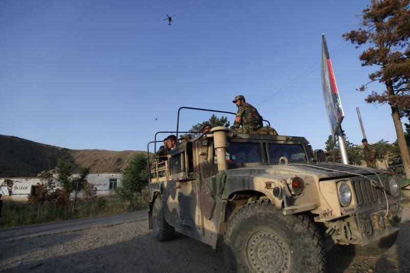 Per Talibano ataką prieš Kabulo viešbutį žuvo aštuoni žmonės