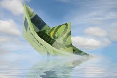 Gruodį euro zonoje - didžiausia metinė infliacija per 10 mėnesių