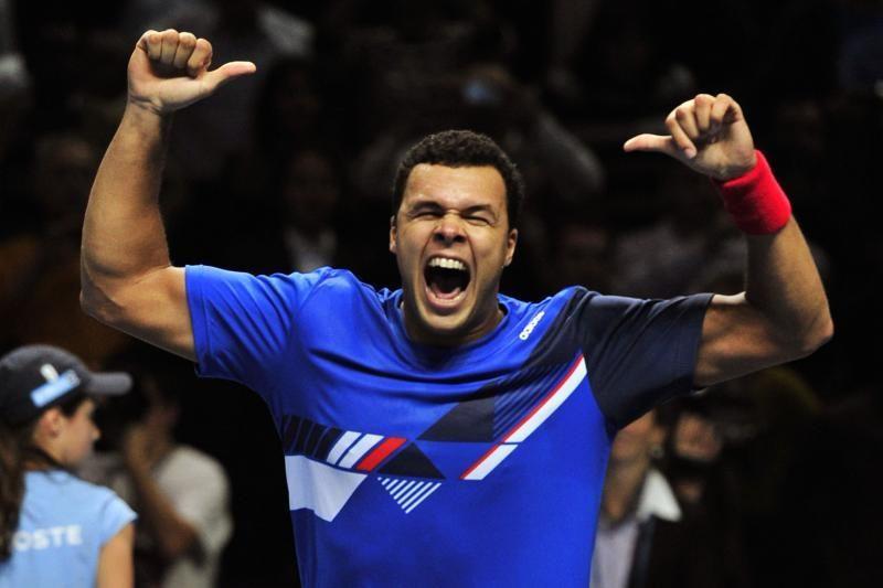 Paaiškėjo trečiasis baigiamojo teniso turnyro pusfinalininkas
