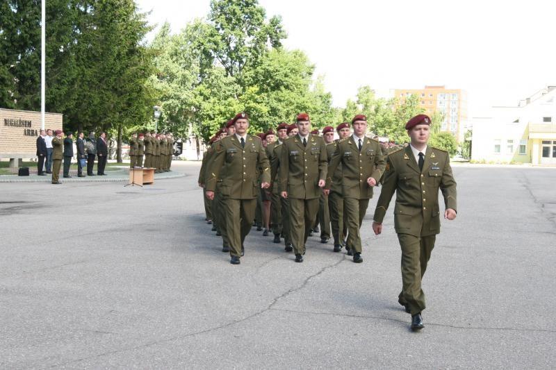 Dragūnų mokomasis batalionas turės naują vadą