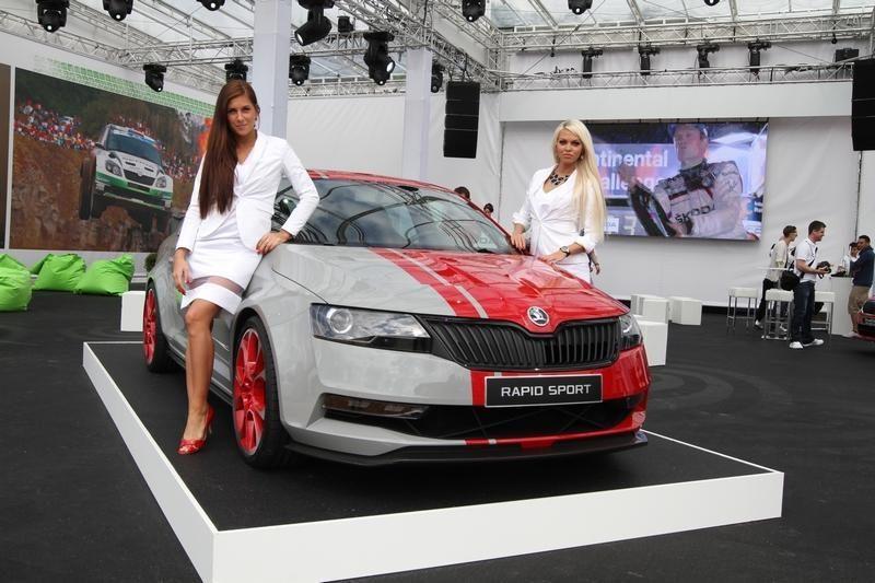 """Koks jis, naujasis """"Škoda Rapid"""" sportinukas? (foto)"""