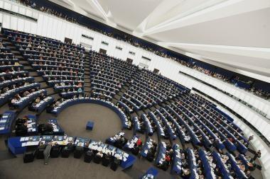Islandijos ugnikalnio pelenai Lietuvos europarlamentarams sutrikdė kelionę į EP sesiją