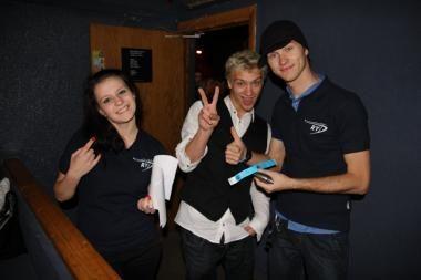 """""""Europos naktis be avarijų"""" klubuose kvietė jaunimą nevartoti alkoholio"""