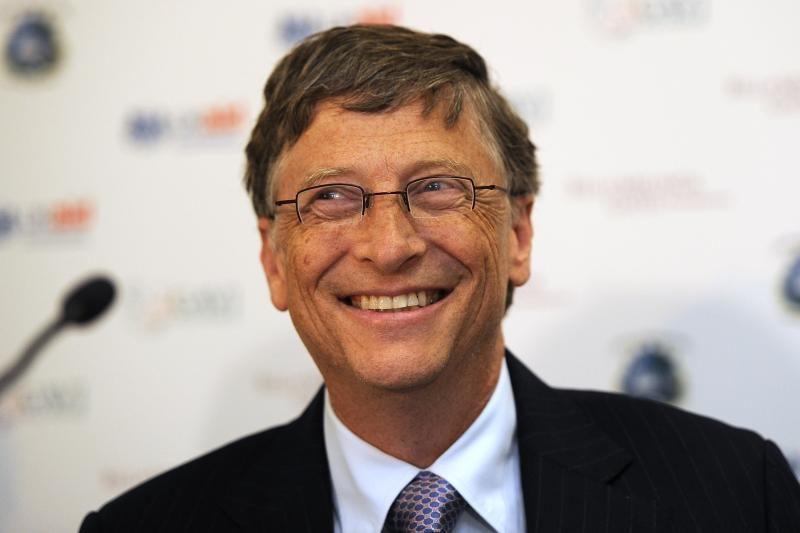"""""""Microsoft"""" įkūrėjas siūlo """"skaitmeninę revoliuciją"""" prieš badą"""