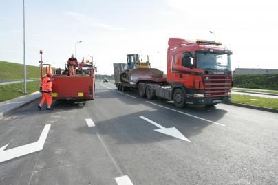 24 mln. litų projektas: pradedama Neringos kelio rekonstrukcija