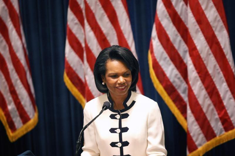 M.Romney kandidatų į viceprezidentus sąraše - C.Rice