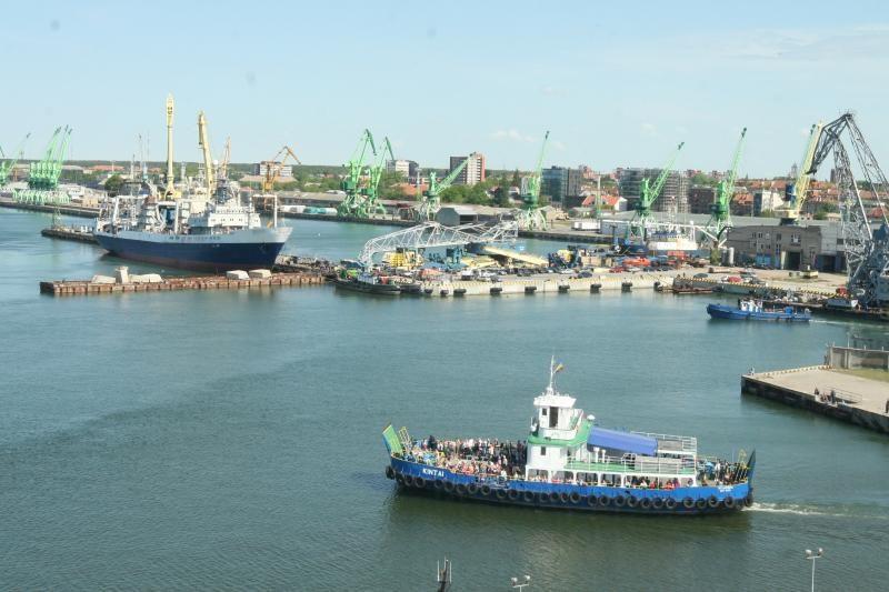 Klaipėdos uoste išvalius dumblą bus vietos didesniems laivams