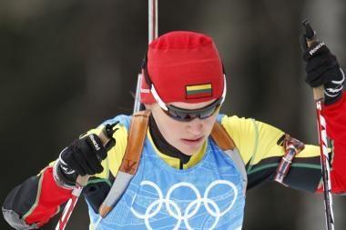D.Rasimovičiūtė olimpiados persekiojimo lenktynėse liko 34-a