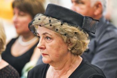 K.Brazauskienei uždrausta dalyvauti savivaldos rinkimuose