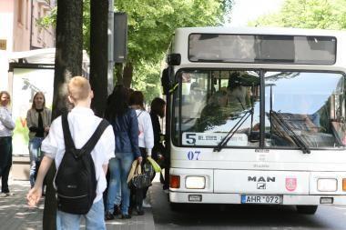 Dėl dviračių lenktynių keisis autobusų maršrutai