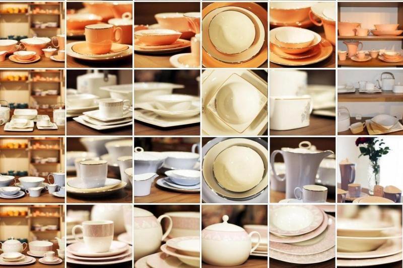 Ant stalo – porceliano             elegancija