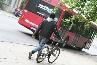 Miesto maršrutinis autobusas sužalojo pėsčiąjį