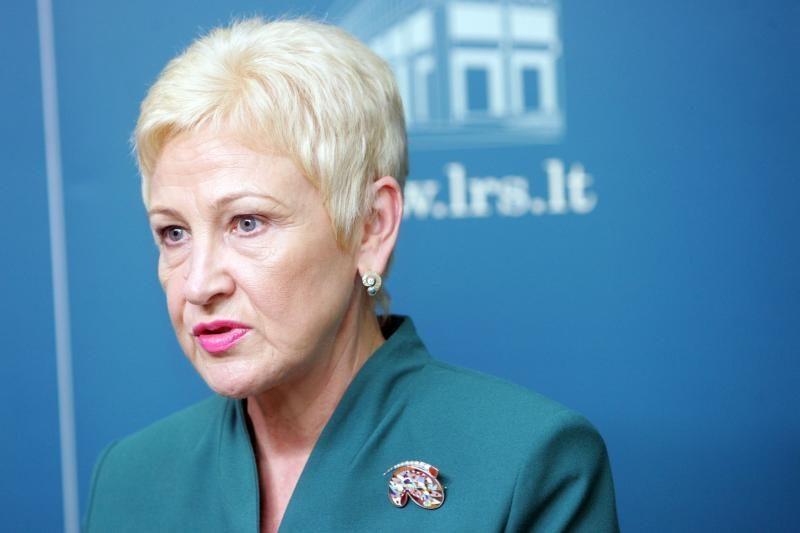 Seimo pirmininkės užuojauta žuvus J.Palioniui