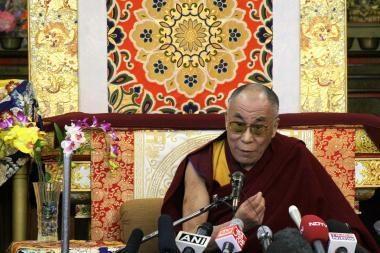 Dalai Lama: reikia kalbėtis su žmonėmis