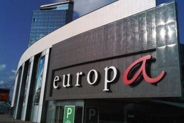 """Prekybos centre """"Europa"""" – netikras pranešimas apie gaisrą"""