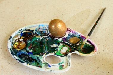 Kuo dažyti kiaušinius: burokais ar vynuogėmis?