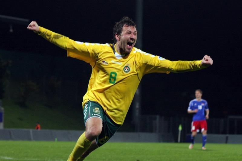 Lietuvos futbolininkai reabilitavosi: pagaliau nukautas Lichtenšteinas
