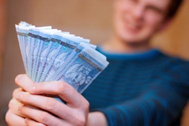 Bankams Lietuvoje patikėta daug indėlių