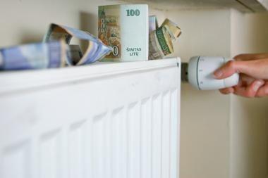 Šildymo kaina iki gruodžio nesikeis