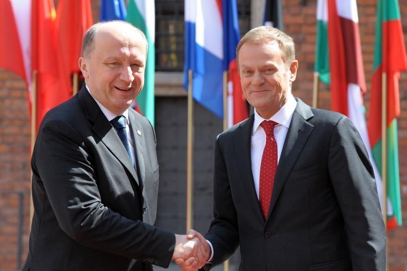 A.Kubilius su Lenkijos premjeru kalbėsis ir apie energetiką