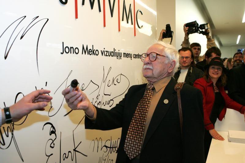Vilniuje atidaroma paroda apie J.Meko brolį A.Meką