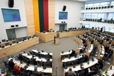 Prezidentė linki Seimui pamiršti politines rietenas ir populizmą