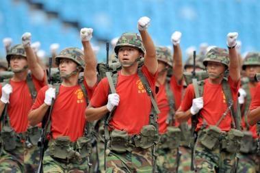 Rusijos diplomatas: Korėjos pusiasalyje bręsta karas