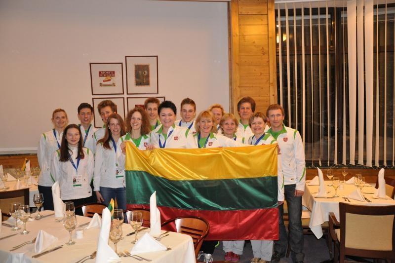 Europos jaunimo žiemos olimpiniame festivalyje dalyvaus 14 lietuvių