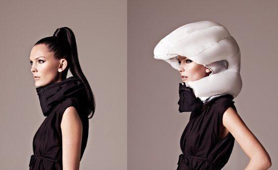 """Mitas sugriautas: net ir dėvintiems šalmą šukuosenų """"kontūrai"""" nepakis"""