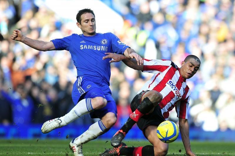 """200-asis F. Lampardo įvartis padėjo """"Chelsea"""" pakilti į trečią vietą"""