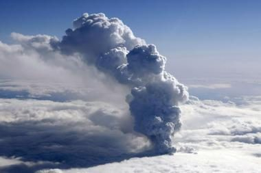 Vulkano išsiveržimas Islandijoje neturi įtakos žmonių sveikatai