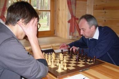 Šalies šachmatų pirmenybes laimėjo V.Mališauskas ir V.Kalvytė