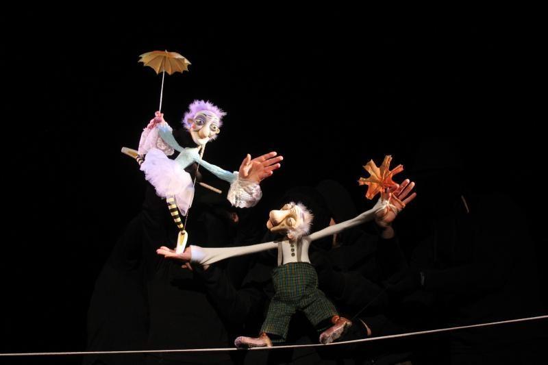 V. Mazūras: premija reikšminga visam Lietuvos lėlių teatrui