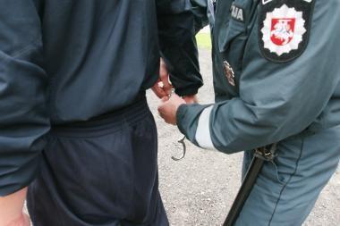 Girtas pažeidėjas sulaužė policininkui ranką
