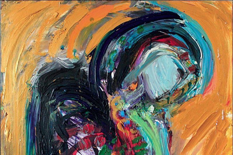 Antano Mončio namuose-muziejuje – dailininkės iš Niujorko paroda